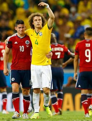 david luiz Brasil e James rodriguez Colombia Arena Castelão