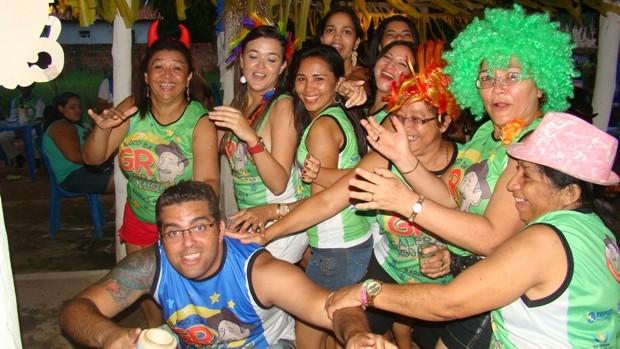 Reunião familiar vira bloco e se torna tradição em Barras (Gil Oliveira/G1)