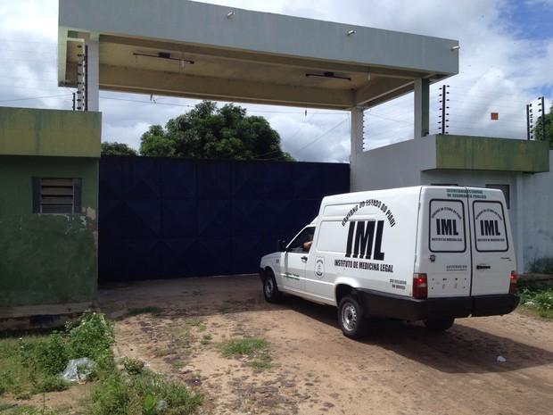 Penitenciária Irmão Guido, localizada na BR 316 em Teresina (Foto: Gil Oliveira/G1)