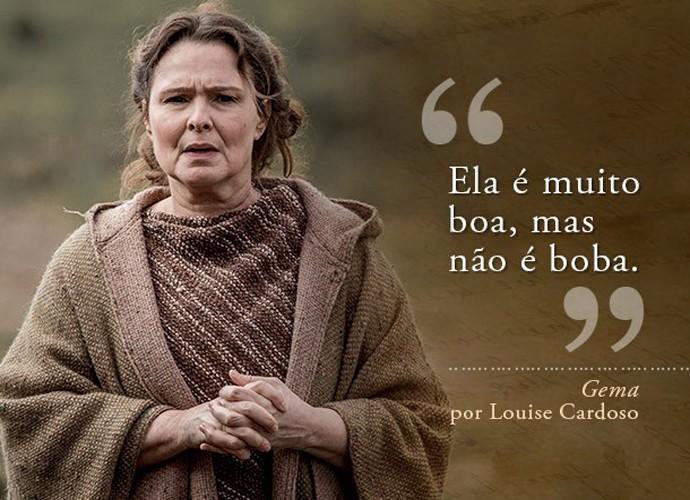 Gema (Louise Cardoso) (Foto: Gshow)