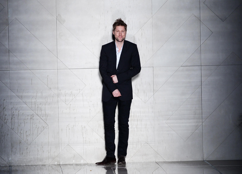 Christopher Bailey na Semana de Moda de Milão, em 2011 (Foto: Getty Images/ Vittorio Zunino Celotto )