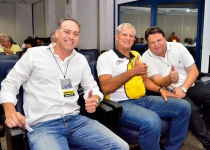 Fahel Júnior técnico Rio Branco-SP (Foto: Sanderson Barbarini / Foco no Esporte)