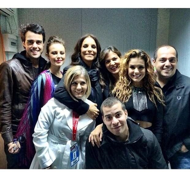 Ivete Sangalo e famosos no Rock in Rio Lisboa (Foto: Reprodução/Instagram)