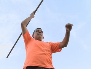 Cabo da Costa, em treinamento em RO (Foto: Reprodução/ TV Rondônia)
