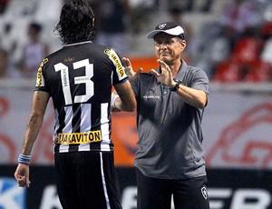 loco abreu oswaldo de oliveira botafogo bangu semifinal taça rio (Foto: Ivo Gonzalez / Agência O Globo)