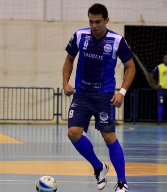 Fabinho Taubaté Futsal (Foto: Jonas Barbetta/ arquivo Top 10 Comunicação)