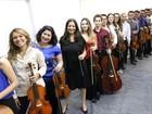 Orquestra formada por jovens músicos se apresenta em Jundiaí