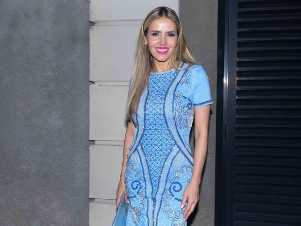 Leona Cavalli em festa em São Paulo (Foto: Leo Franco/ Ag. News)