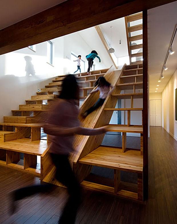 Ideias de escadas (Foto: Moon Hoon / Divulgação)
