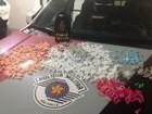 Polícia apreende mil pinos de cocaína com jovem de 20 anos em Marília