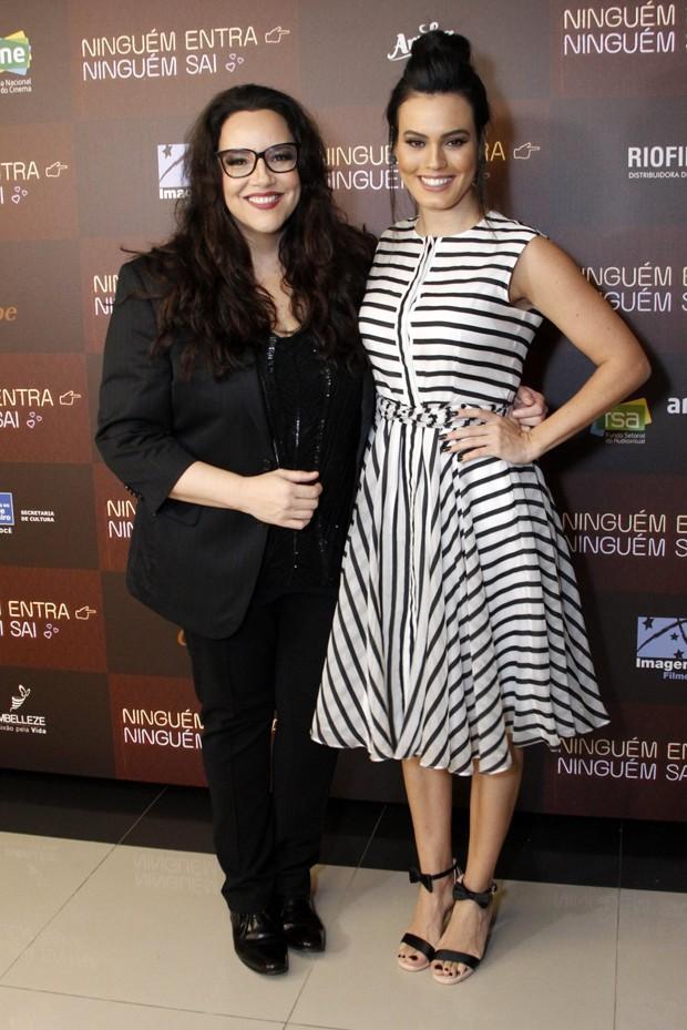 Ana Carolina e Letícia Lima (Foto:  Marcos Ferreira / Brazil News)