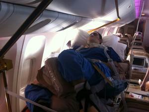 Renato Mecca viajou 31h até o Brasil em voo que custou R$ 270 mil (Foto: Guilherme Mecca/Arquivo Pessoal)