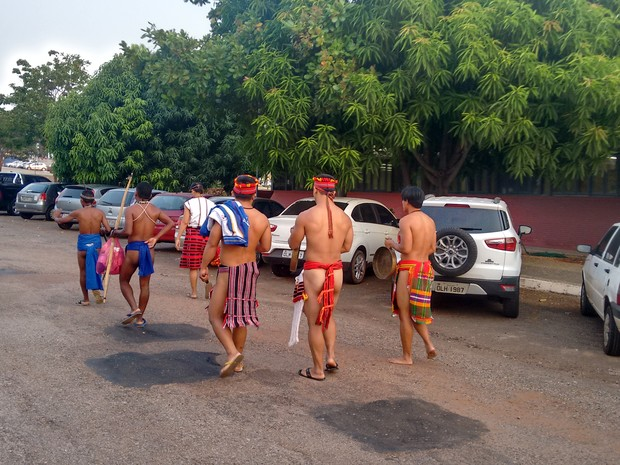 Homens da etnia Igorot costumam ser fortes (Foto: Gabriela Lago/G1)