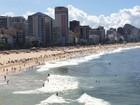 Em dia nublado, Rio registra sensação térmica de 40,7ºC