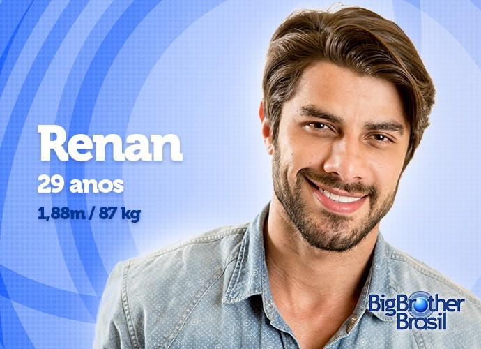 O bonitão Renan está com 87 kg. Vai ganhar ou perder calorias? (Foto: Daniel Chevraud/Gshow)