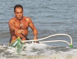Celso Filetti, canoa havaiana (Foto: Ivan Storti / FMA )