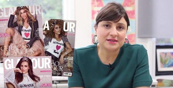 Adriana Bechara, diretora de moda da Glamour (Foto: Reprodução)