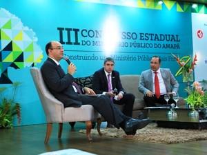 Congresso do Ministério Público aconteceu entte 12 e 14 de novembro (Foto: Divulgação)