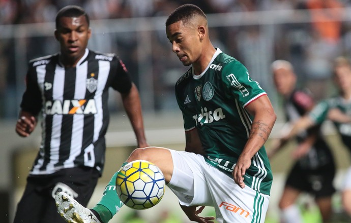 Atlético-Mg x Palmeiras Gabriel Jesus (Foto: Futura Press)