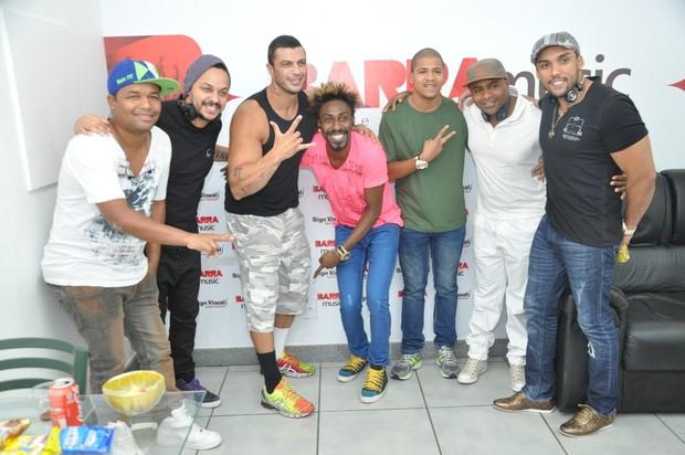 Famosos curtem pré-carnaval no Rio (Foto: Bruno Henrique/Barra Music)