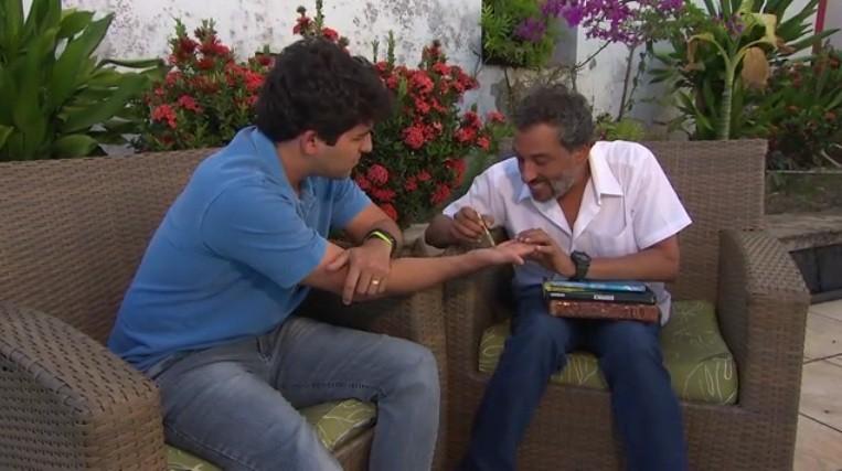 O quirólogo Marcello Meneses diz que a leitura de mãos é uma forma de autoconhecimento (Foto: Divulgação)