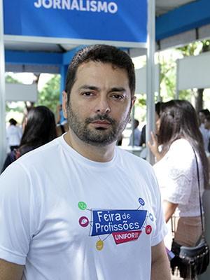 Professor Wagner Borges, coordenador do curso de Jornalismo da Unifor (Foto: Ares Soares/Unifor/Divulgação)