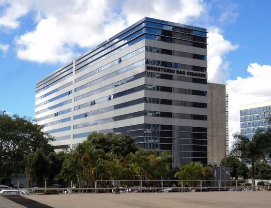 Ministério das Cidades (Foto: Reprodução )