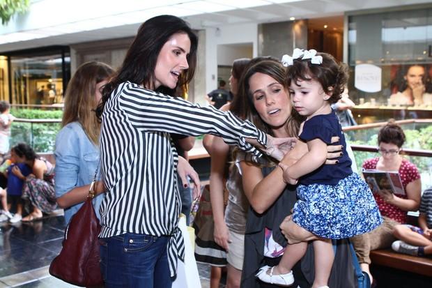 Lisandra Souto e Fernanda Pontes (Foto: Raphael Mesquita/Fotorio News)