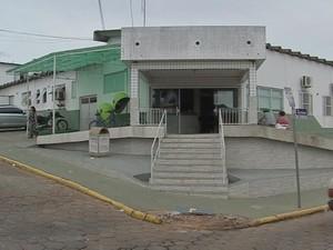 Hospital em Paranapanema (Foto: Reprodução/ TV TEM)