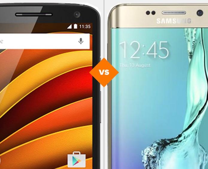 Moto X Force ou Galaxy S6 Edge Plus? Descubra qual top de linha vence. (Foto: Arte/TechTudo)