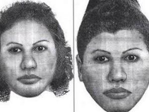 retrato falado mulher morta SP após boatos (Foto: Reprodução)