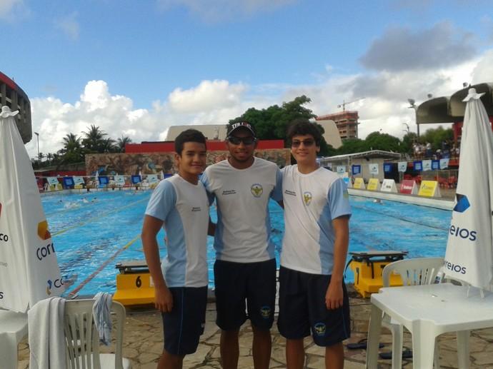 Paulo Vitor, Hartamos Vinícius e Rafael Marreiros (Foto: Reprodução/Facebook)