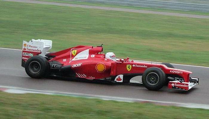 Sebastian Vettel Ferrari Fiorano primeiro teste