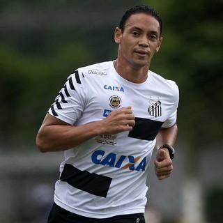 Ricardo Oliveira - Treino - Santos (Foto: Ivan Storti/Divulgação Santos FC)