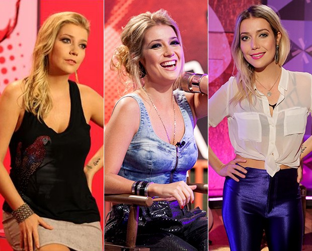 Luiza Possi e corpo (Foto: The Voice Brasil/Gshow)