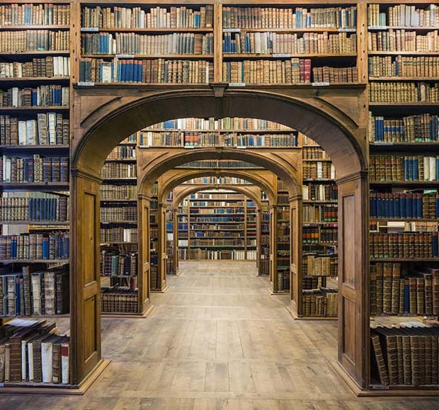Upper Lusatian Library of Sciences, em Görlitz, na Alemanha  (Foto: Reinhard Görner)