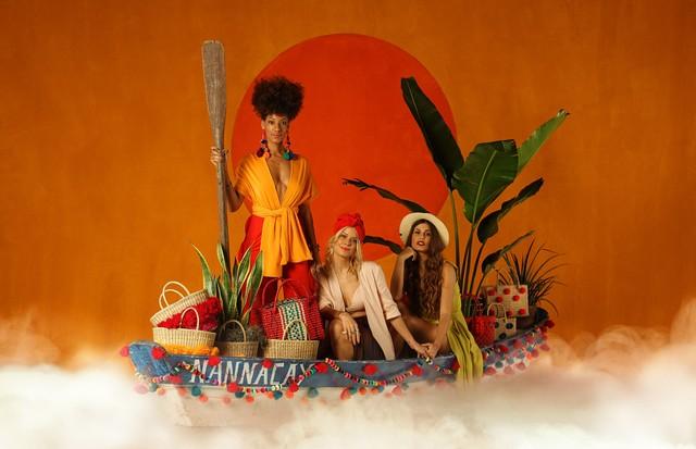 Juliana Luna, Guta Virtuoso e Raquel Alvarez (Foto: Divulgação)
