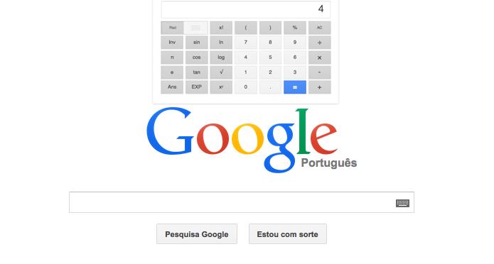 Como fazer cálculos usando o Google
