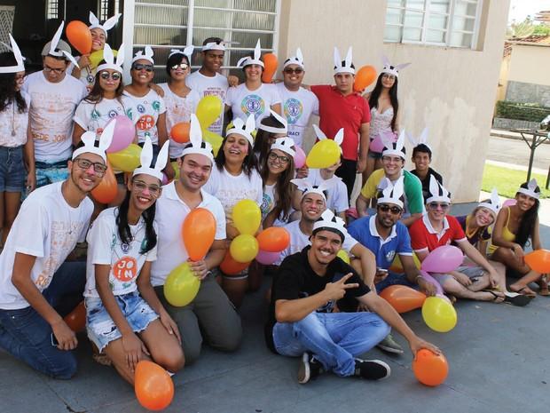 União de jovens trasforma páscoa agudense (Foto: Divulgação)