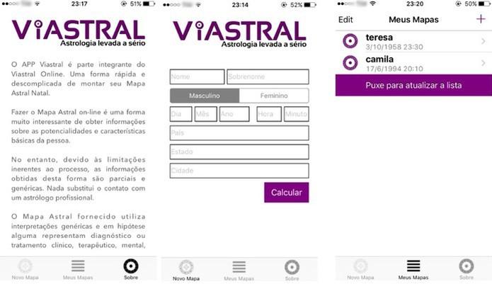 Viastral sólo es gratuito para funciones más básicas (Foto: Reproducción / Camila Peres)