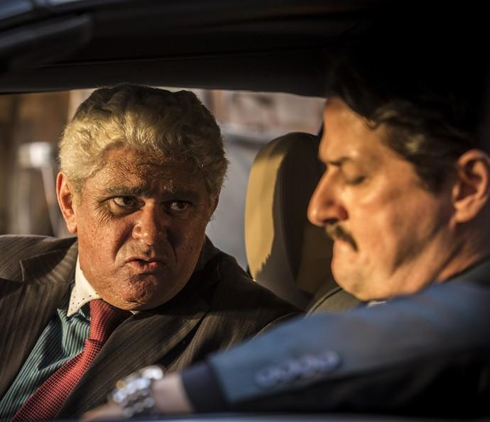 Queiroz tranquiliza Carlos  (Foto: In�cio Moraes/Gshow)