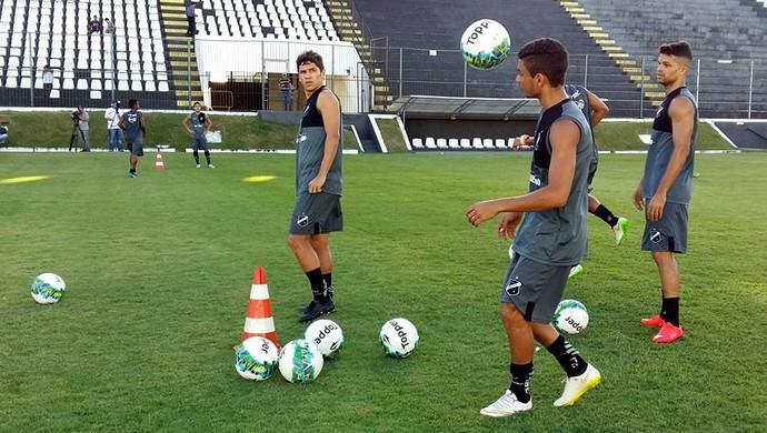 ABC - Lúcio Flávio - Erivélton - Márcio Passos (Foto: Andrei Torres/ABC FC/Divulgação)