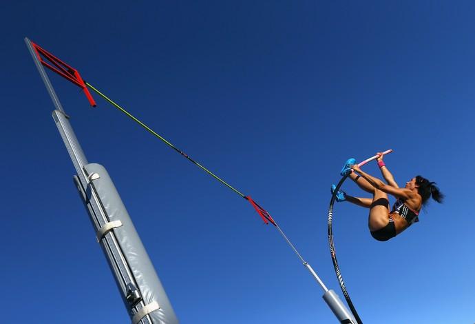 atletismo salto Jennifer Suhr (Foto: Getty Images)