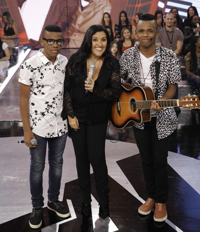 Dupla Augusto e Ariel vence seletiva do Esquentanejo após cantar música de Cristiano Araújo (Foto: João Pedro Januário)