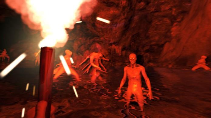 The Forest começou simples no acesso antecipado e hoje tem versão planejada para o PlayStation 4 (Foto: Divulgação)