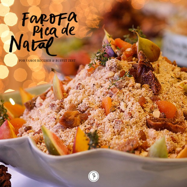 Farofa Rica do Vamos Receber (Foto: Vamos Receber)