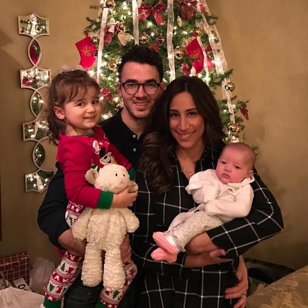 Kevin Jonas com a família (Foto: Instagram / Reprodução)