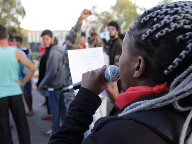 Estudantes ocupam prédio da reitoria da UFVJM (Foto: Helbert Rodrigues/Arquivo pessoal)