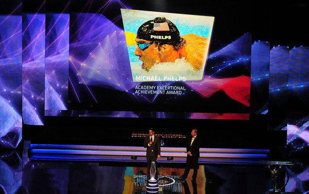 Prêmio Laureus - Michael Phelps (Foto: Getty Images)