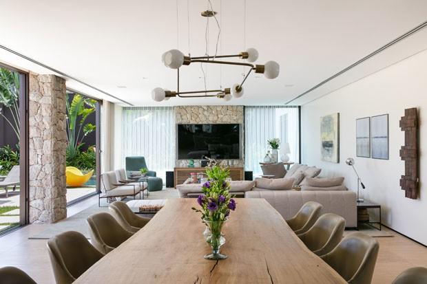 Uma casa perfeita para o convívio com a família e os amigos (Foto:  Fellipe Lima)